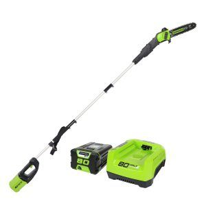 Greenworks PRO 9' 80V Cordless Pole Saw