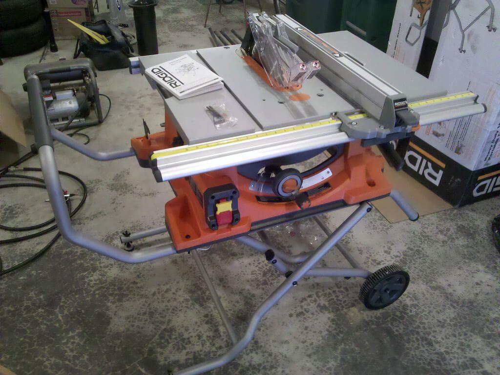 Ridgid Table Saw R4512